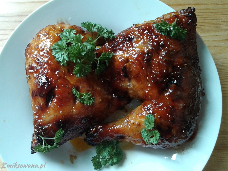 kurczaki miodowo-musztardowe