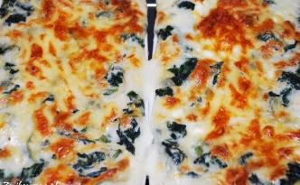 lasagne ze szpinakiem i sosem beszamelowym