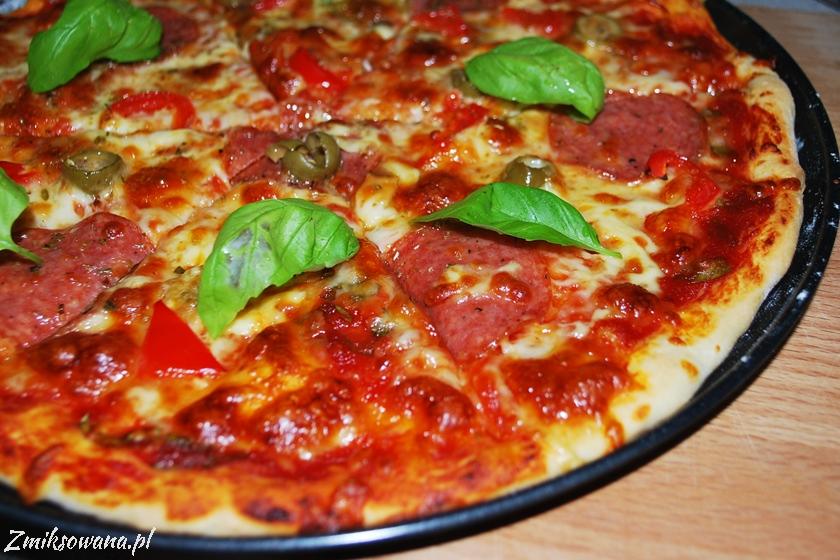 pizza bez wyrastania