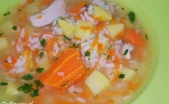 ryżowa zupa