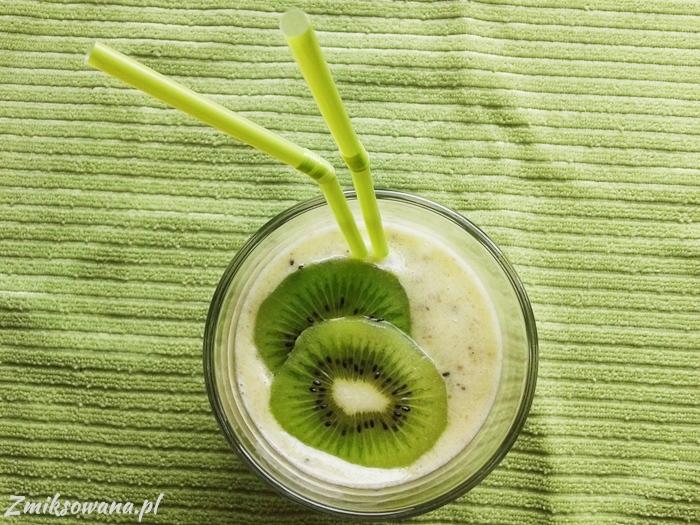 smoothie kiwi banan