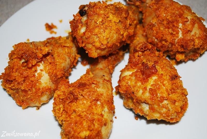 udka z kurczaka w chrupiącej panierce