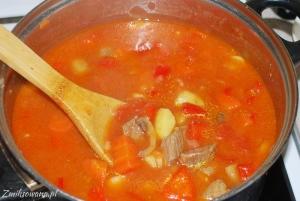 gulaszowa zupa prosta