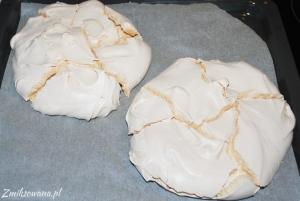 blaty bezowe na tort