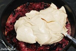 tort z masą kajmakową
