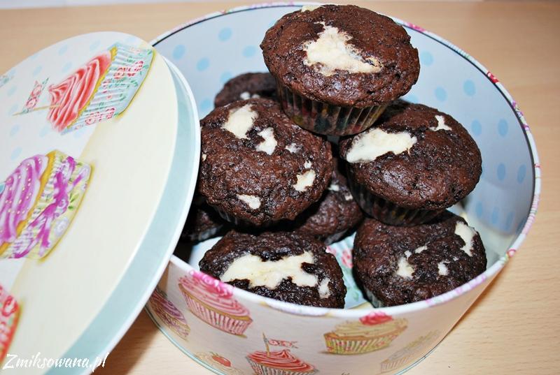 Czekoladowe muffinki z mascarpone