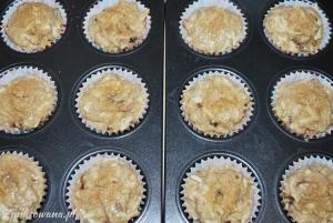 Muffinki razowe z daktylami i figami