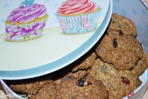 Zdrowe ciastka z musli