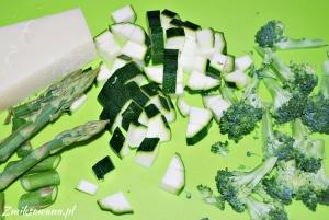 Cukinia, szparagi, brokuły