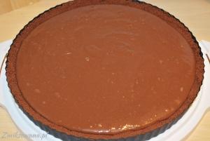 Czekoladowa tarta z czekoladowym kremem