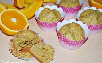 Muffiny dyniowe z pomarańczą