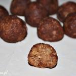 Kakaowe trufle jaglane