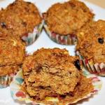 Muffinki marchewkowo-jabłkowe