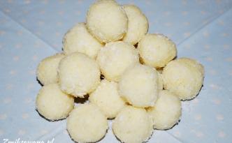 Trufle kokosowe z kaszy jaglanej