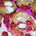 Muffinki z malinami i ricottą