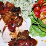 Grillowana polędwiczka z sosem śliwkowym